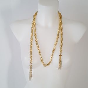 Paparazzi Gold Tone Necklaces with free earrings